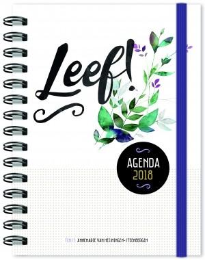 LEEF! Agenda 2018 - groot