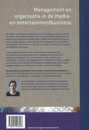 Management en organisatie in de media- en entertainmentbusiness