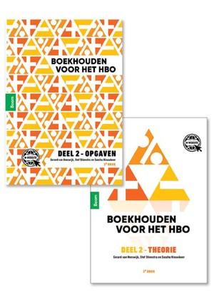Boekhouden voor het hbo deel 2: combipakket