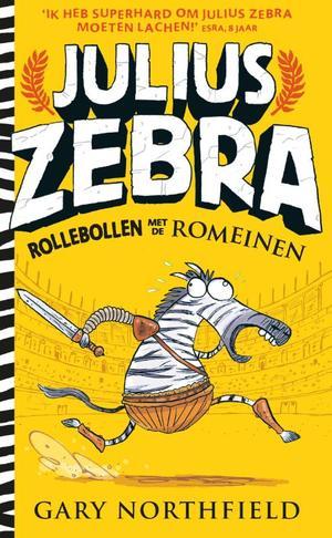 Julius Zebra - 1 Rollebollen met de Romeinen (Wobbler + 5 ex.)