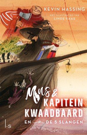 Mus en kapitein Kwaadbaard en De 5 slangen