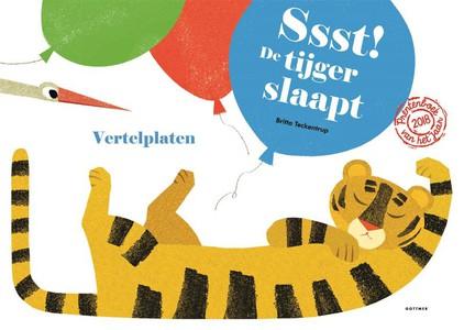 Ssst! De tijger slaapt!