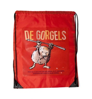 De Gorgels - gymtas rood