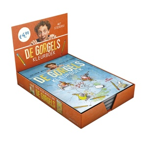 Gorgels Kleurboek Display 10 ex