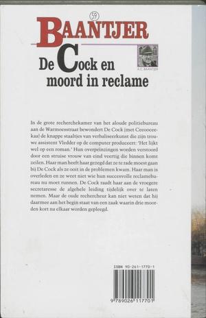 De Cock en moord in reclame
