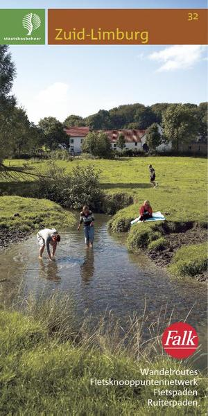 Falk Staatsbosbeheer wandelkaart 32.Zuid-Limburg