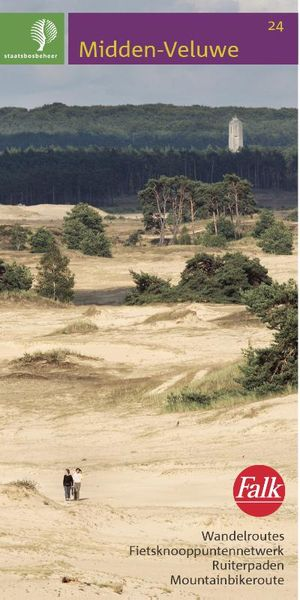 Falk Staatsbosbeheer wandelkaart 24 Midden-Veluwe