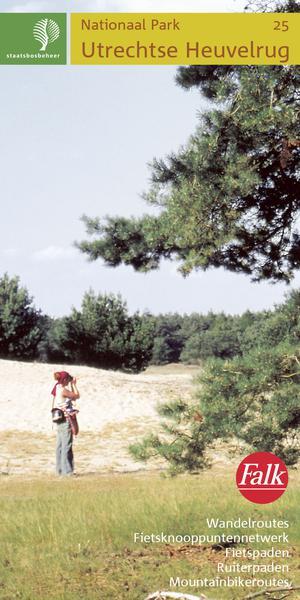 Falk Staatsbosbeheer wandelkaart 25 Utrechtse Heuvelrug