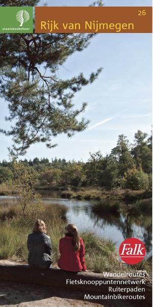 Falk Staatsbosbeheer wandelkaart 26 Rijk van Nijmegen