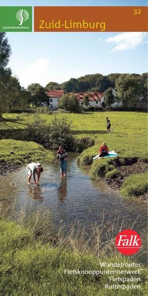 Falk Staatsbosbeheer wandelkaart 32 Zuid-Limburg