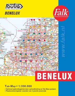 Falk Autokaart Benelux Routiq