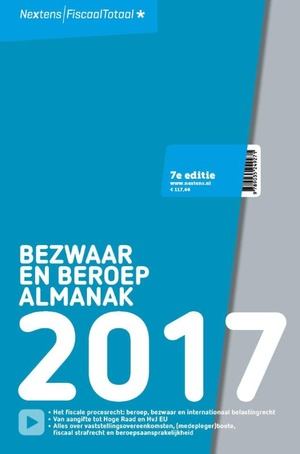 Nextens Bezwaar & Beroep Almanak 2017