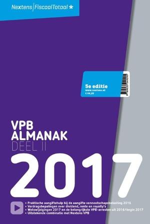 Nextens VPB Almanak 2017 deel 2