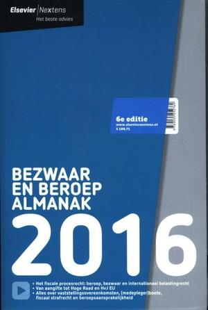 Elsevier bezwaar en beroep almanak 2016