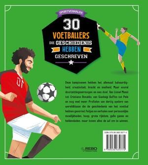 30 voetballers die geschiedenis hebben geschreven
