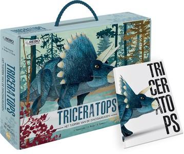 Triceratops - Boek + 3D-puzzel