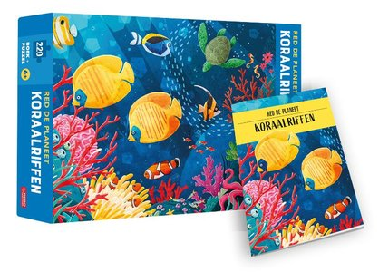 Koraalriffen - Red de planeet - puzzel en boek