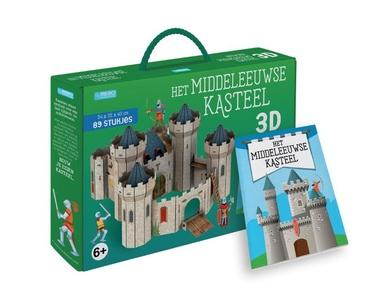 Het middeleeuws kasteel - Boek + 3D-puzzel