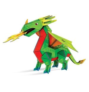 Draak - Boek + 3D-puzzel