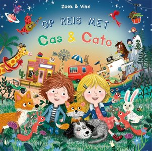Op reis met Cas & Cato - zoekboek