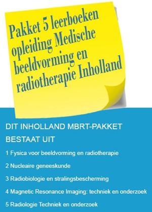 Pakket 5 leerboeken voor de opleiding Medische beeldvorming en radiotherapie Inholland