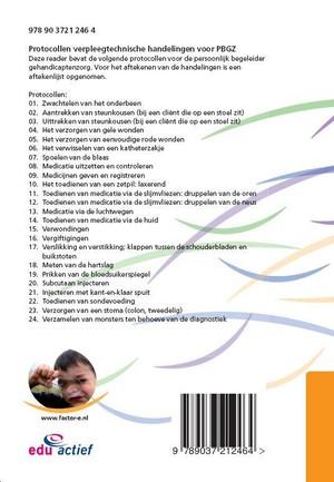 Protocollen verpleegtechnische vaardigheden voor PBGZ