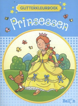 Glitterkleurboek prinsessen