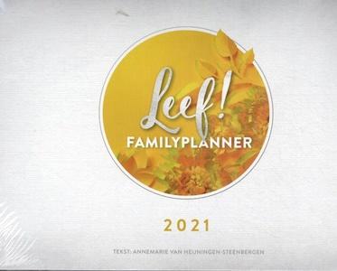 LEEF! Familieplanner 2021