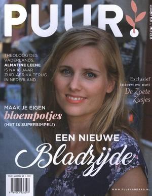 PUUR! Magazine nr. 1, 2021 - Een nieuwe bladzijde