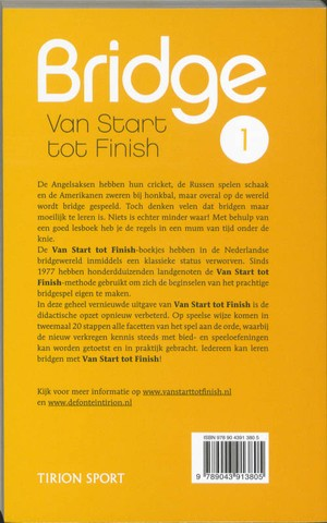 Bridge van start tot finish deel 1