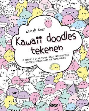 Kawaii doodles tekenen