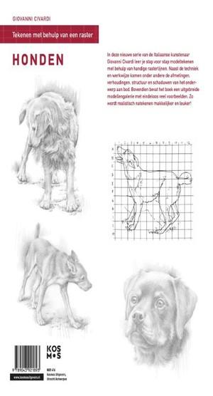 Tekenen met behulp van een raster-Honden