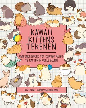 Kawaii kittens tekenen