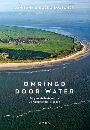 Omringd door water