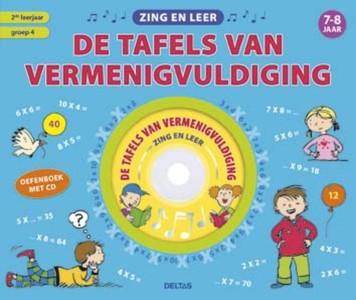 Zing en leer de tafels van vermenigvuldiging met CD
