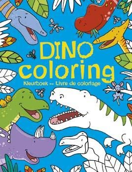 Dino coloring