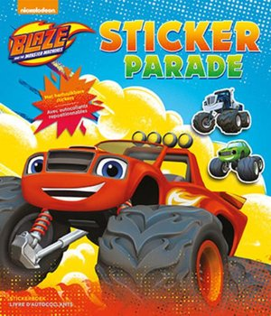 Blaze and the monster machines sticker parade