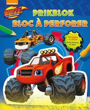 Blaze and the monster machines Prikblok / Blaze and the monster machines Bloc à perforer