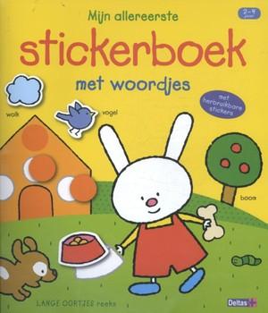 Mijn allereerste stickerboek met woordjes (2-4 j.)