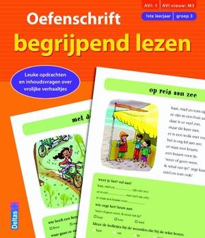 Oefenschrift begrijpend lezen (AVI:1 AVI nieuw:M3) (1ste leerjaar - groep 3)