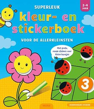 Superleuk kleur- en stickerboek voor de allerkleinsten 2-4 jaar