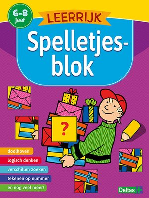 Spelletjesblok 6-8 jr