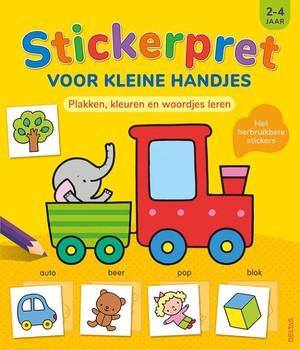 Stickerpret voor kleine handjes 2-4 jaar