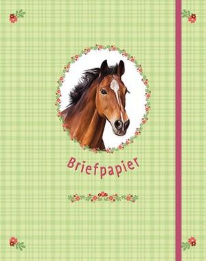 Briefpapier paarden