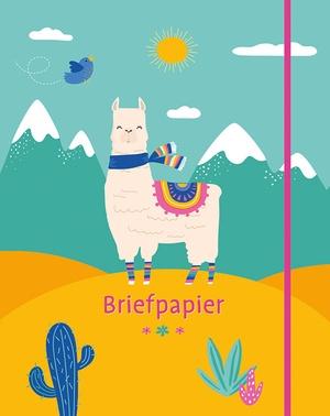 Briefpapier lama's