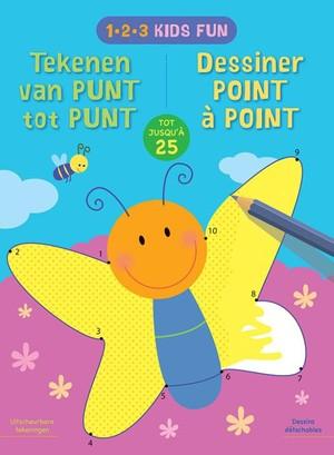 1-2-3 Kids Fun - Tekenen van punt tot punt tot 25 / 1-2-3 Kids Fun - Dessiner de point à point jusqu'a 25