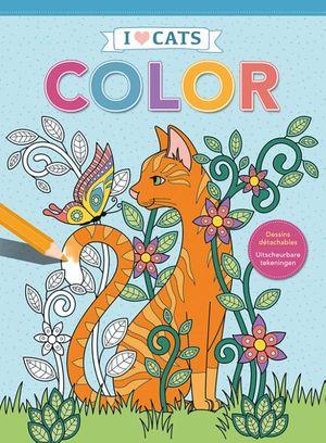 I love cats Color