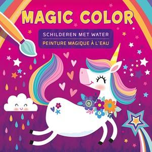 Magic Color schilderen met water / Peinture Magique à l'eau