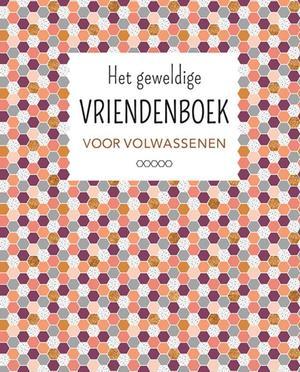 Het geweldige vriendenboek voor volwassenen (roze/bordeaux)