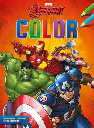 Avengers Color kleurblok / Avengers Color bloc de coloriage
